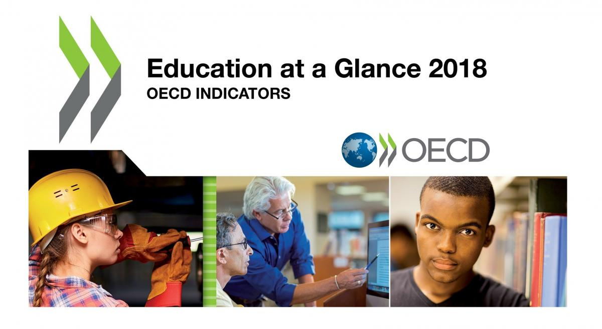 Informe Education at a Glance 2018 de la OCDE